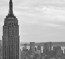 Empire State Building, Manhattan, NYC by Jesse Hernandez