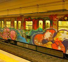 Grafitti Train by dimpdhab