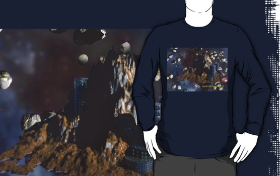 Asteroid City Tee by S McKoy