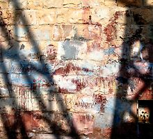 Shadow on the wall by Martine Affre Eisenlohr