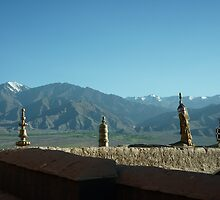 View from a Stupa by naddum