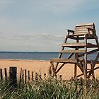 Bayville Beach by Karen Checca