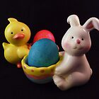 Easter Eggs by Barbara Morrison