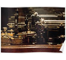 Steam Punk - DIY Typewriter Poster