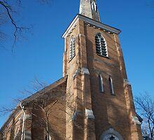 Community Church of Slingerlands by Robert Gutterman