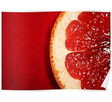 Red Grapefruit Poster