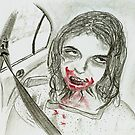 Please Ensure All Zombies Are Restrained. a message from th Roads And Traffic Authority. by Edzie