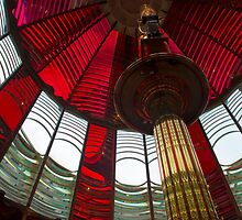 Umpqua Lighthouse Lens by Zane Paxton