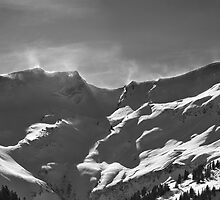 smoking mountains (Obertal, Allgaeu) by Erwin G. Kotzab