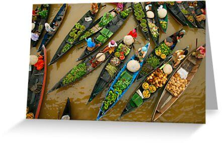 Crowded Market by Aulia  Rahman