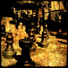 Playing Chess in Melbourne by Sonia de Macedo-Stewart