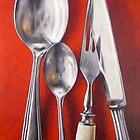Silver Cutlery VII by Klaus Boekhoff