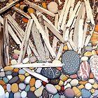 Landscape With Sticks and Stones by Richard Klekociuk