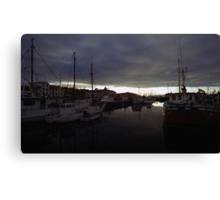 Hobart Harbour Sunrise Canvas Print