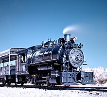 Flagg Coal Steam Engine HDR/IR by MKWhite