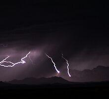 Afghan Lightning Storm by Gregorio Sanford