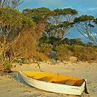 Boat on a Beach by Stephen Dean
