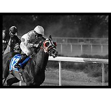 Race Series #11 Photographic Print