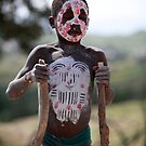 Mursi boy by inge