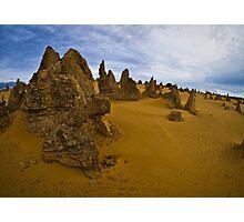 pinnacles desert 1, western australia Photographic Print