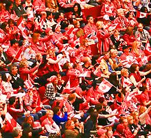 A Sea of Red - Canadian Fans at the 2010 Olympics by smw24