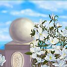 Sea view with magnolia by Victoria  _Ts