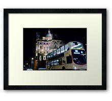 Market Street - Edinburgh Framed Print
