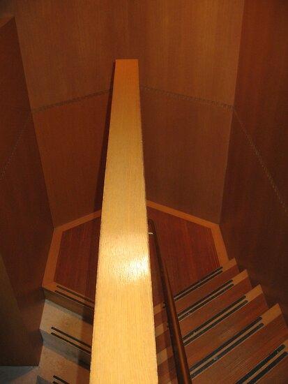 Hexagonal Stairway by AJ Belongia