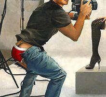 Say Cheese...Cake, Starring Mike Ruiz by Paul Richmond