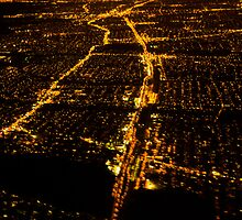 New York City Bright Lights Big City  by MrLoupos