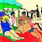 1928 on the beach by SusanneSurup