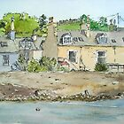 Home by the Sea - Port William Scotland by Lynne  M Kirby BA(Hons)