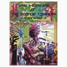 1968 Van Morrison @ Boston Commons  by Dick  Iacovello