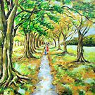 Walk in Hagley Park by Ira Mitchell-Kirk