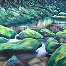Routeburn River by Ira Mitchell-Kirk