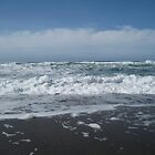 California Ocean Waves in Spring by GnomePrints