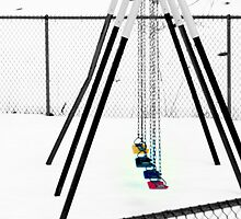Swing Set.  by BlakeAndrew