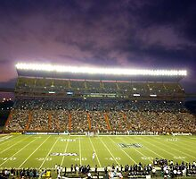 Aloha Stadium at Night by kekipi