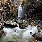 New Zealand Waterfalls by Kimball Chen
