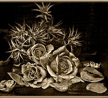Old world roses by debarazzi2010