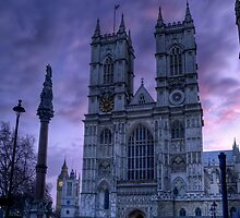 Westminster Abbey at Dawn by EvergreenImp