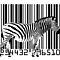 Zebra Barcode by ArtPrints