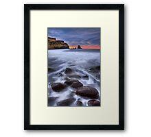 Talisker bay, Isle of Skye, Scotland. Framed Print