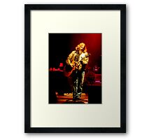Singer/Songwriter Jamey Johnson Framed Print