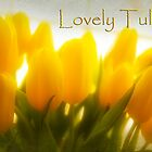 Lovely Tulips by Trudy Wilkerson