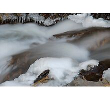 Bear Creek...Winter Photographic Print