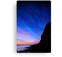 "Orions Belt & ""The Mount"" Canvas Print"