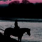 Silhouette Night by Carl M. Moore