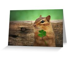 Irish Chippy Greeting Card