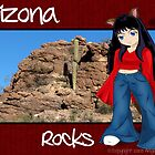 Arizona Rocks by Angela Pritchard